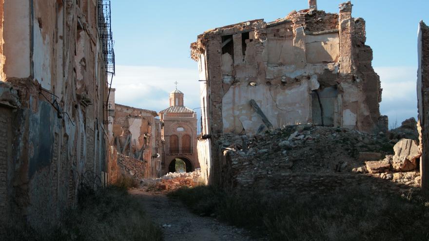 Ruinas de la Calle Mayor. Luis Villa del Campo