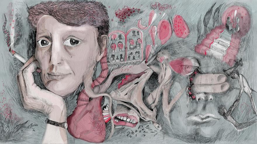 Elisa Séiquer por Teresa Arroyo, estudiante de Ilustración de la Escuela de Arte de Murcia