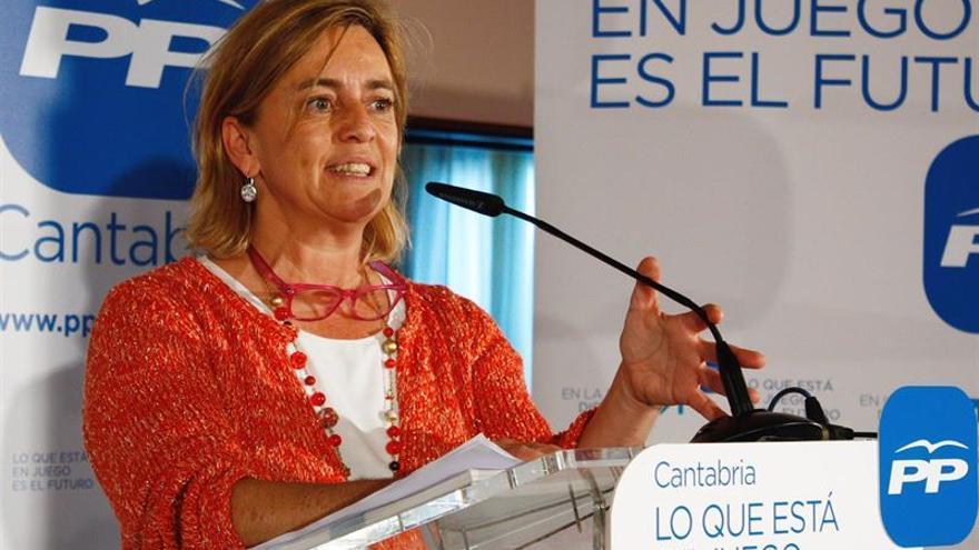 María Luisa Peón, presidenta del PP de Torrelavega.