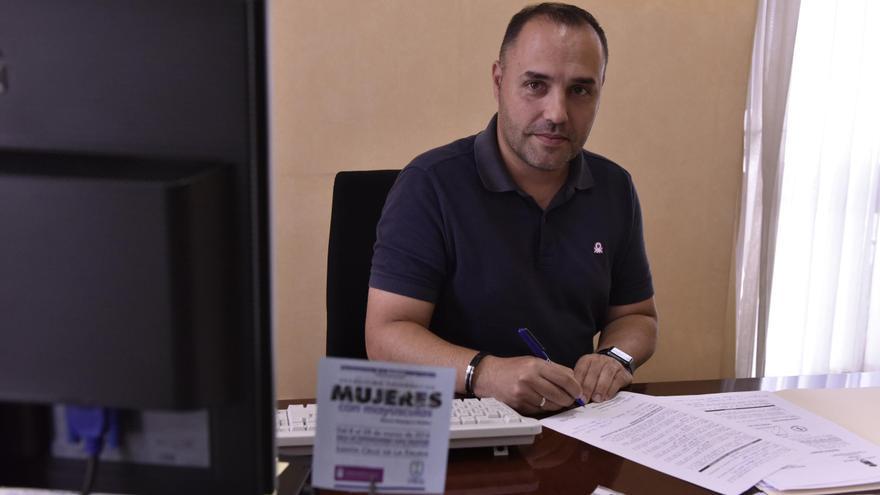 Luis Javier Camacho, consejero de Hacienda y Recursos Humanos del Cabildo de La Palma,