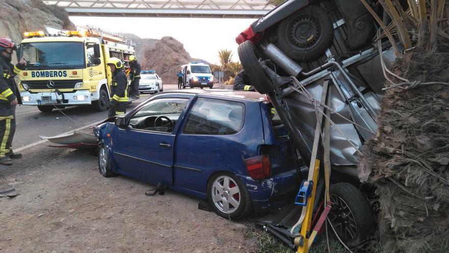 Accidente de Tráfico en Mogán