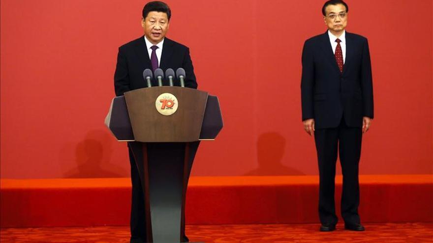Xi Jinping condecora a veteranos de la II Guerra Mundial en su 70 aniversario