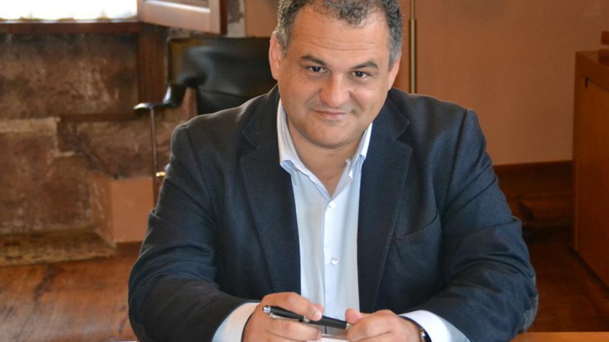 El alcalde de La Laguna, José Alberto Díaz