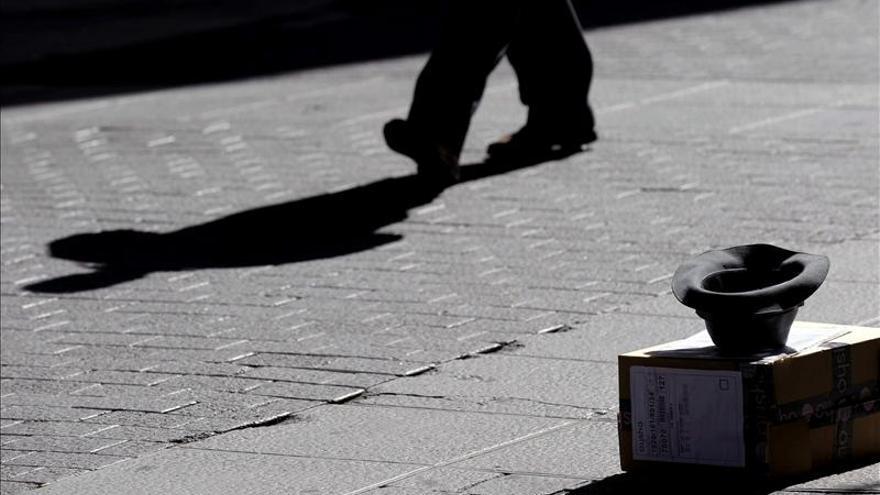 Los centros para personas sin hogar acogieron 14.050 personas al día en 2012