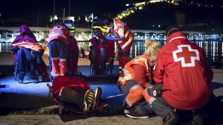 Interceptada una patera con 25 inmigrantes en la costa de Málaga