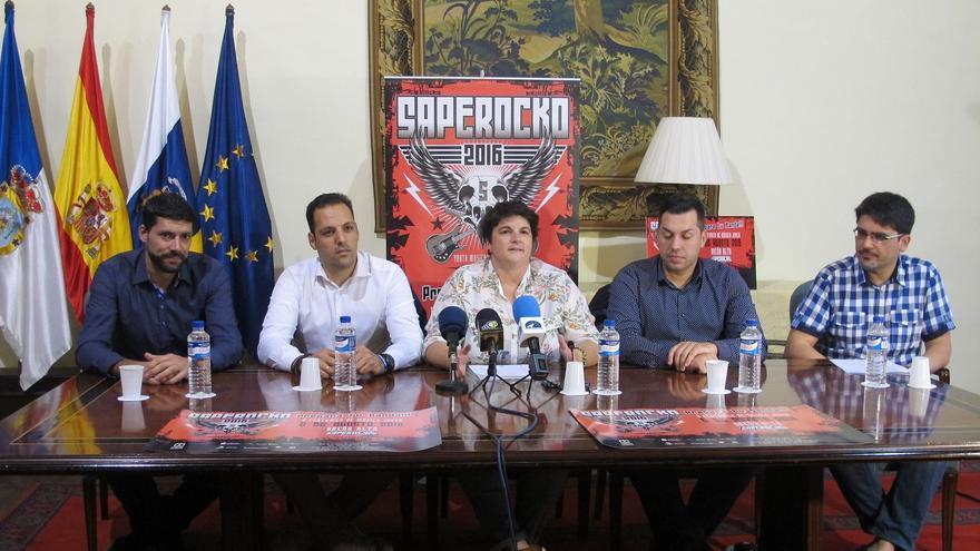 En la imagen, presentación del certamen 'Saperocko'.