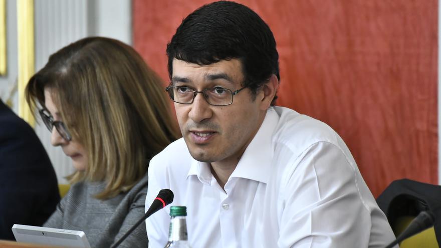 Mario Regidor, concejal de Recursos Humanos del Ayuntamiento de Las Palmas de Gran Canaria.