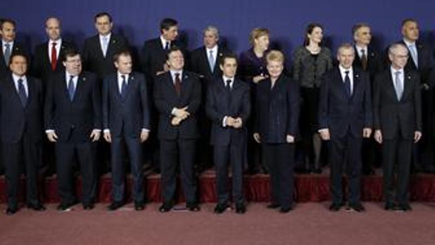 Los líderes europeos se reúnen en Bruselas