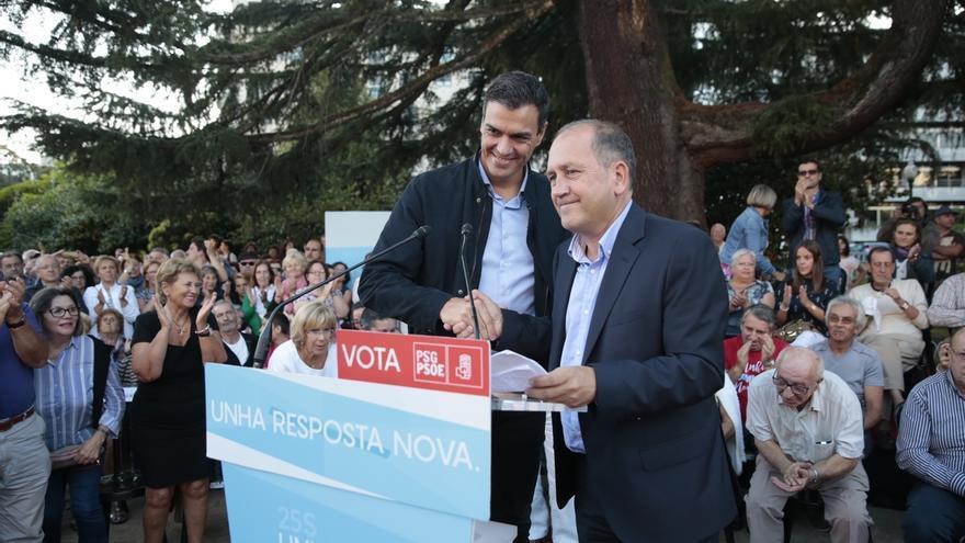 """Sánchez achaca a la """"intransigencia"""" de Iglesias no tener gobierno y le insta a """"trabajar duro"""" para echar a Rajoy"""