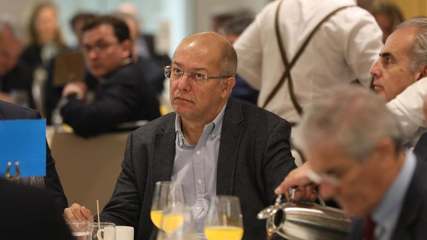 Francisco Igea, en un desayuno socio-sanitario de Europa Press.