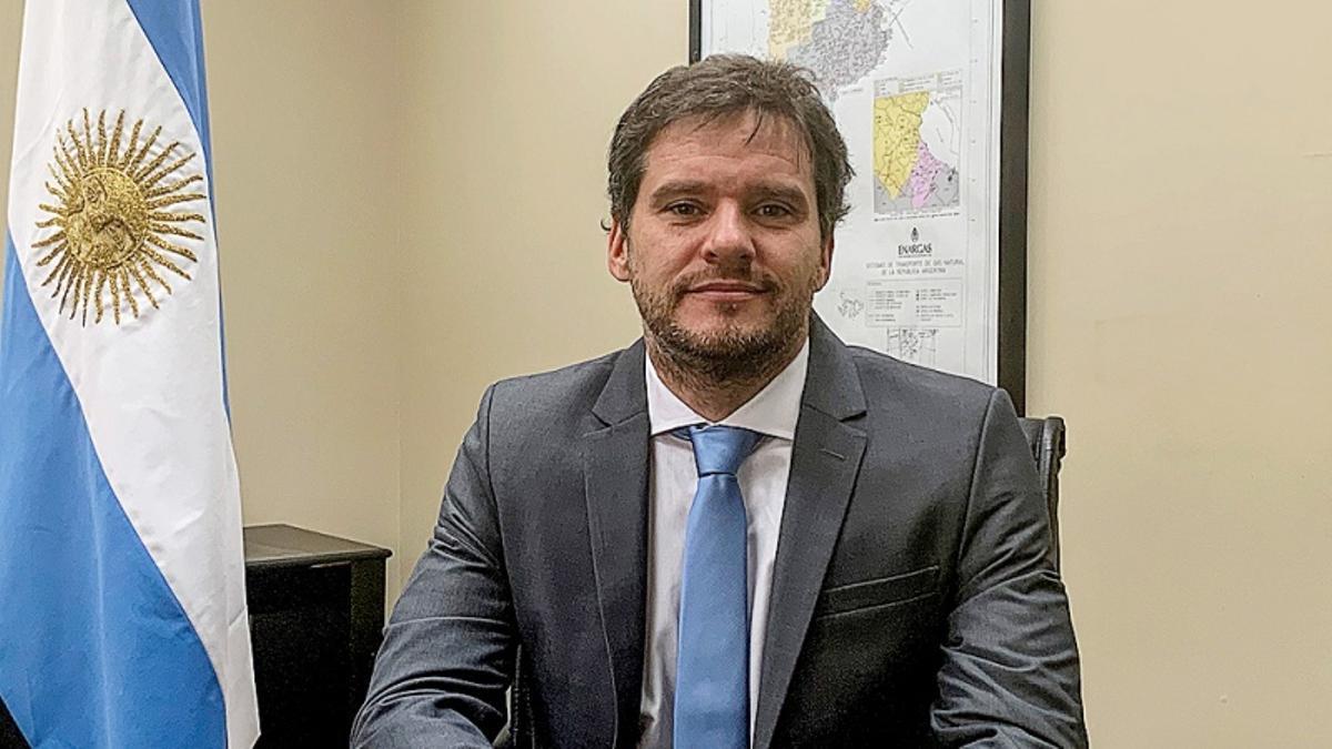 Federico Bernal, interventor del Enargas.