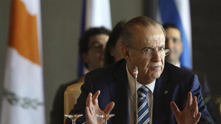 El ministro chipriota de Exteriores, Ioannis Kasoulides