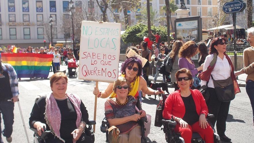 Imagen de la portada de la tesis doctoral 'No estamos locas, sabemos lo que queremos. Los procesos participativos de las mujeres con diversidad física en Andalucía', de la Dra. Antonia Corona Aguilar (UPO)