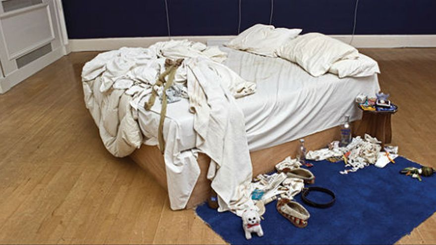'My bed', de Tracey Emin