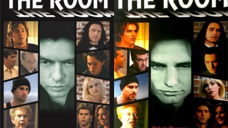 Carteles de 'The Room' y 'The disaster artist'