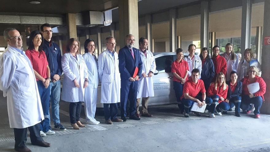 El Área de Salud de Tudela refuerza el servicio de Hospitalización a Domicilio con diez nuevas camas