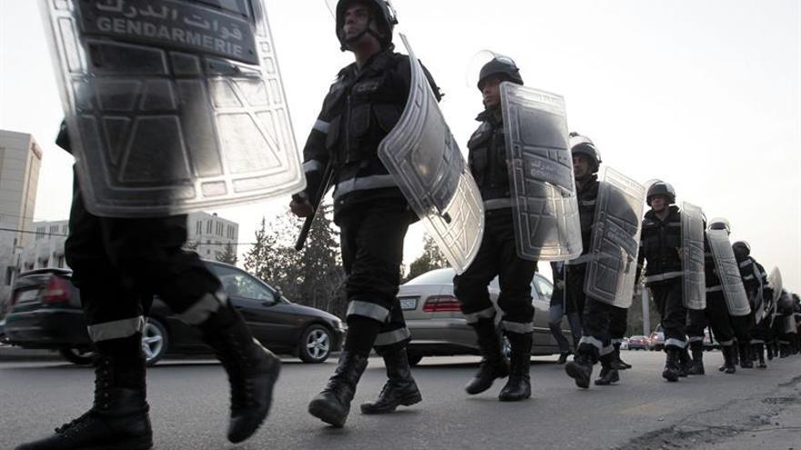 Hombres armados se atrincheran en un edificio en el sur de Jordania