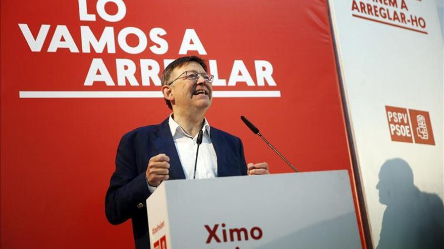 Puig dice que el PSPV es coherente y no quiere gobiernos frentistas, sino progresistas