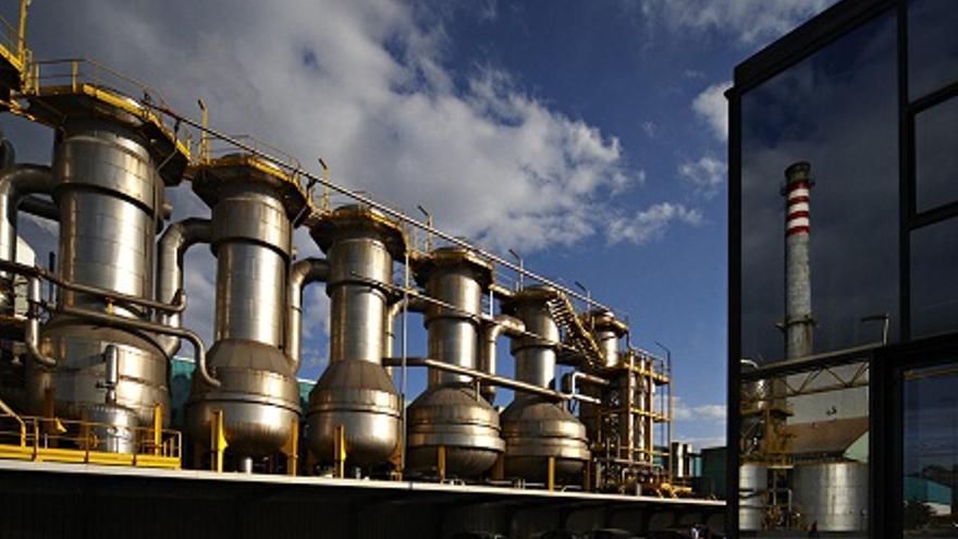 Incineradora de biomasa de Ence