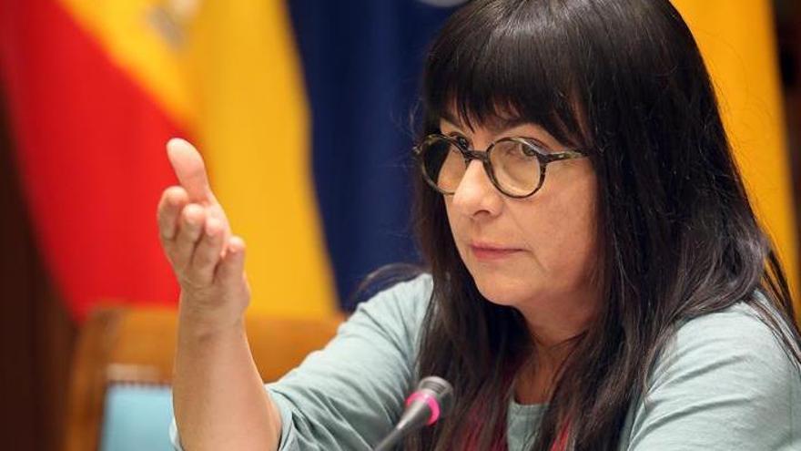 La profesora de la ULL Esther Torrado, autora del primer informe sobre la prostitución en las Islas.