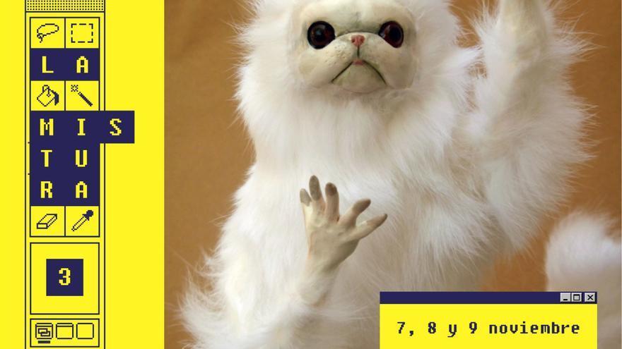El meme 'Persian Cat Room Guardian', imagen de la tercera edición de La Mistura.