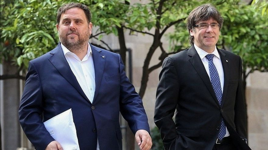 PP y Cs critican al Gobierno por una declaraciones de Junqueras en TVE rechazando la violencia desde la cárcel