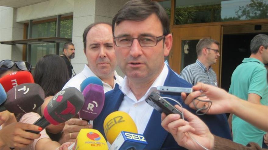 Daniel Martínez, coordinador regional de IU Castilla-La Mancha / Foto: EUROPA PRESS