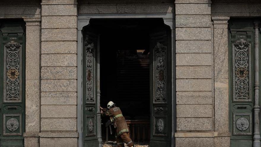 El Museo Nacional de Río de Janeiro ha rescatado unas 1.500 piezas tras su incendio