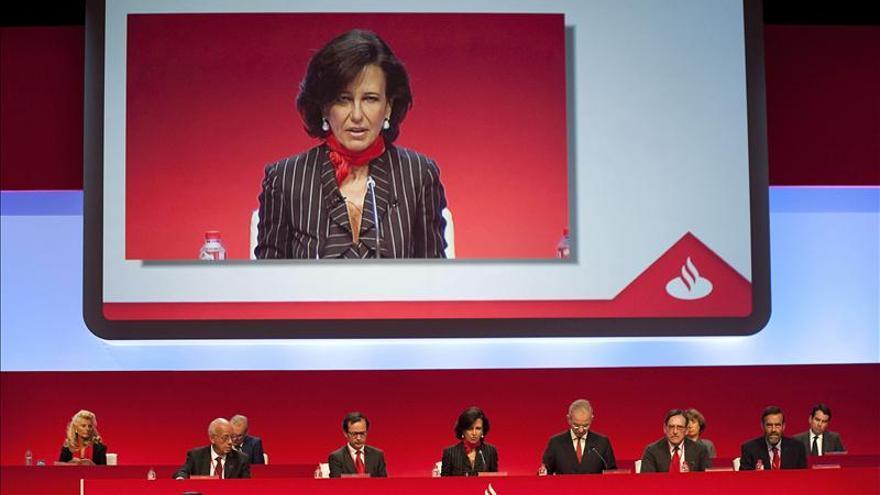 El Grupo Santander ganó el 32 por ciento más hasta septiembre por mayores ingresos