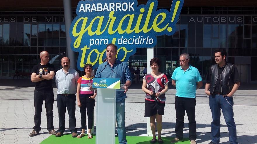 """EH Bildu propone """"impulsar"""" Foronda y Miñano con un centro para mantenimiento de aeronaves y diseño de drones"""