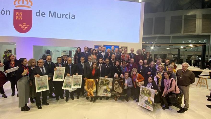 Murcia, Cartagena, Lorca y Jumilla exhiben el potencial turístico internacional de la Semana Santa de sus municipios en Fitur