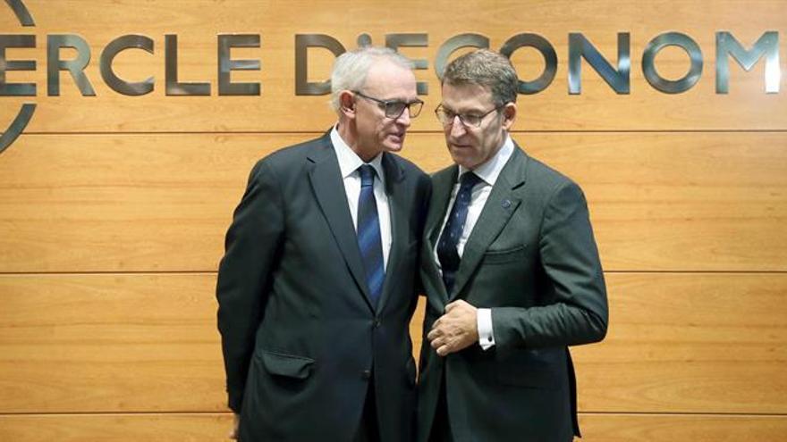 """Feijóo pide diálogo sin """"línea rojas"""" y más """"teléfonos rojos"""" con Cataluña"""