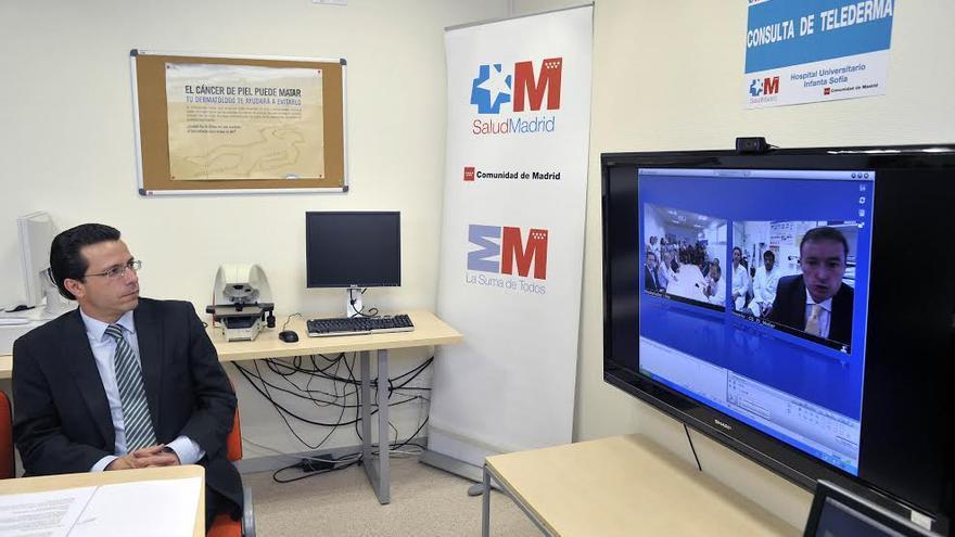 Javier Fernández-Lasquetty, consejero de Sanidad de la Comunidad de Madrid. \ madrid.org
