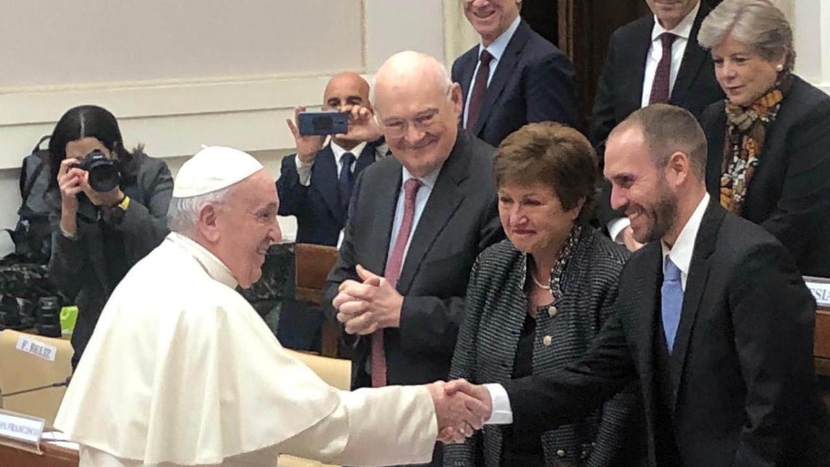 El Papa Francisco recibirá a Martín Guzmán