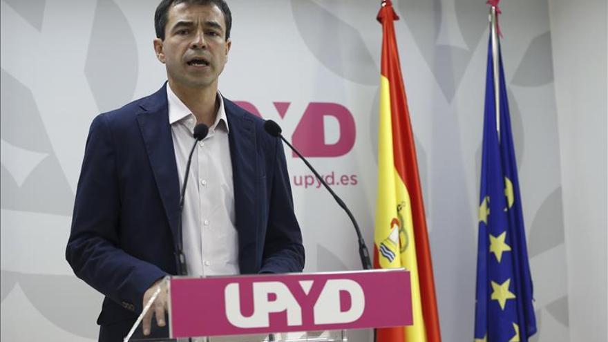 Suprimir el Senado, diputaciones y concierto vasco, ejes del programa de UPYD