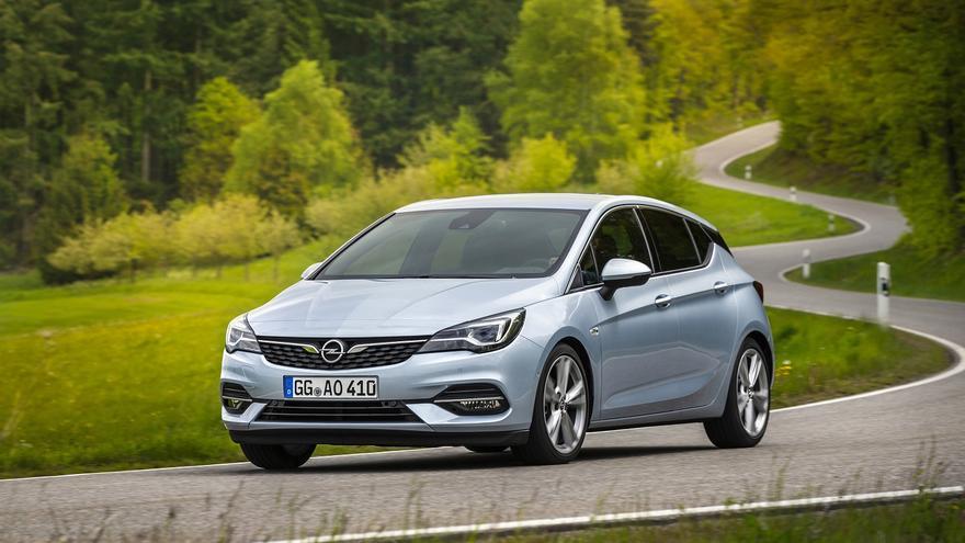 Motores más eficientes para  el fin de ciclo del Opel Astra
