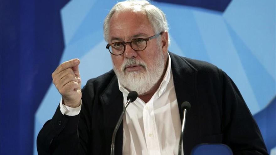 Miguel Arias Cañete, comisario de Energía y Acción para el Clima (Efe).
