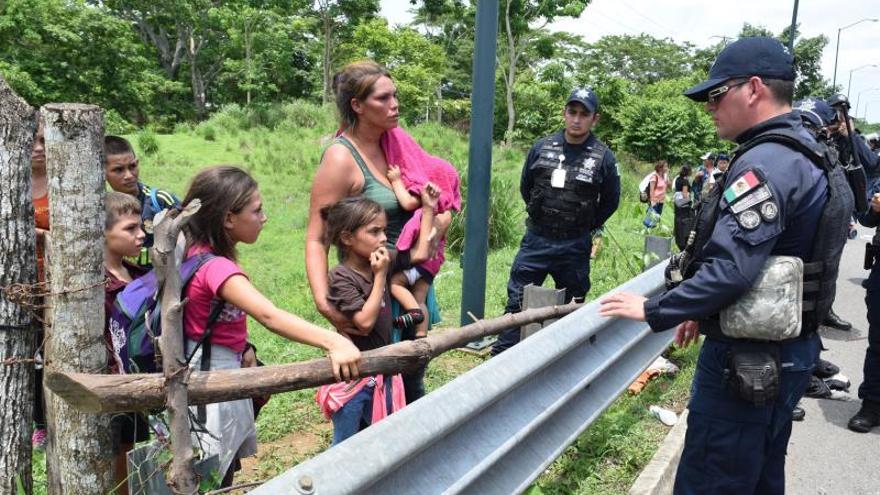 Denuncian alta militarización y maltrato migratorio en frontera sur mexicana