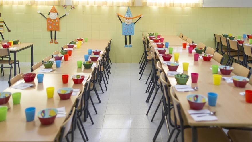 Las ayudas de comedor escolar llegarán el próximo curso a 10.000 alumnos más que en 2015