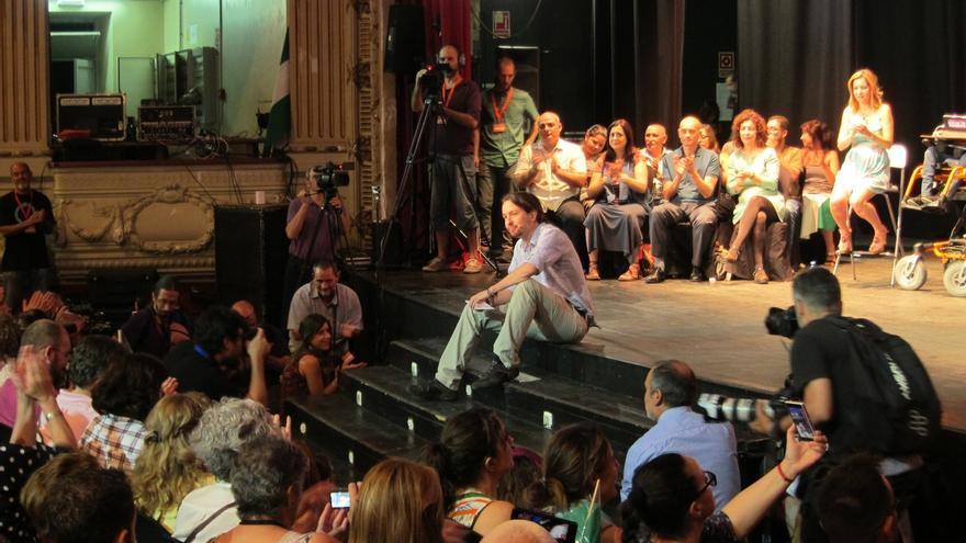 Pablo Iglesias busca apoyo de militantes y parlamentarios ante el Consejo Ciudadano del sábado y la pugna interna