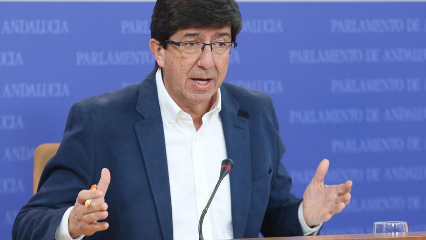 """Marín (Cs) pide a Zoido que """"rectifique"""" y aumente el número de efectivos de seguridad en el Campo de Gibraltar"""