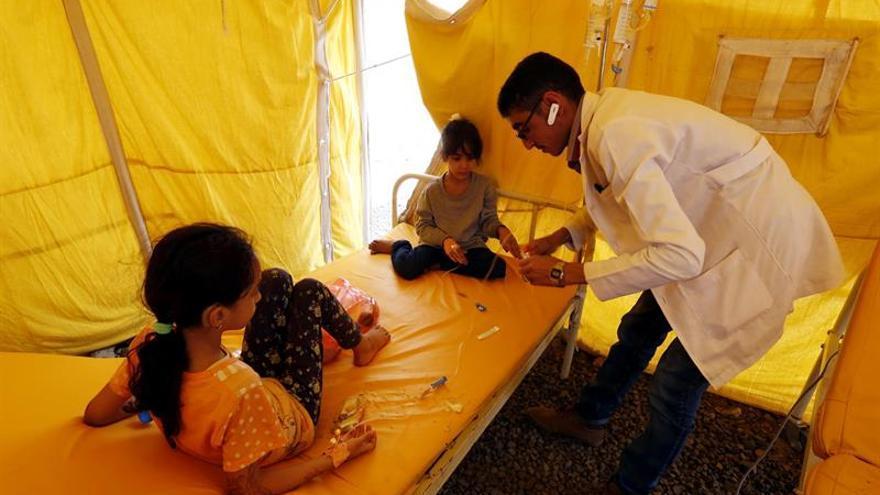 Médicos Sin Fronteras alerta de la propagación del cólera por causa de la insalubridad en Yemen