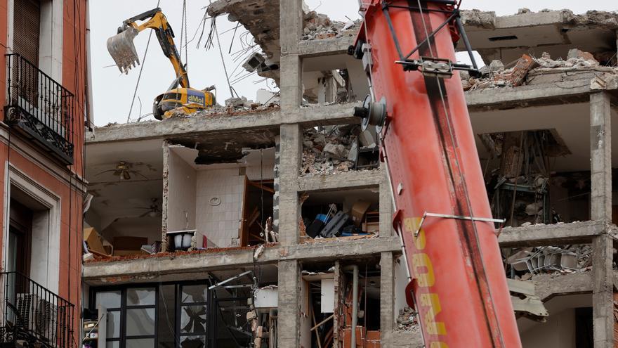 Tres calderas del edificio que explotó en Madrid no estaban registradas