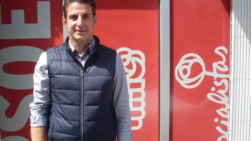 Carlos Medina, líder del PSOE en Tacoronte y candidato a la alcaldía el 26 de mayo
