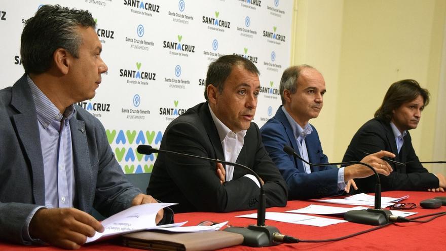 José Manuel Bermúdez, alcalde de la ciudad, en la rueda de prensa de este lunes