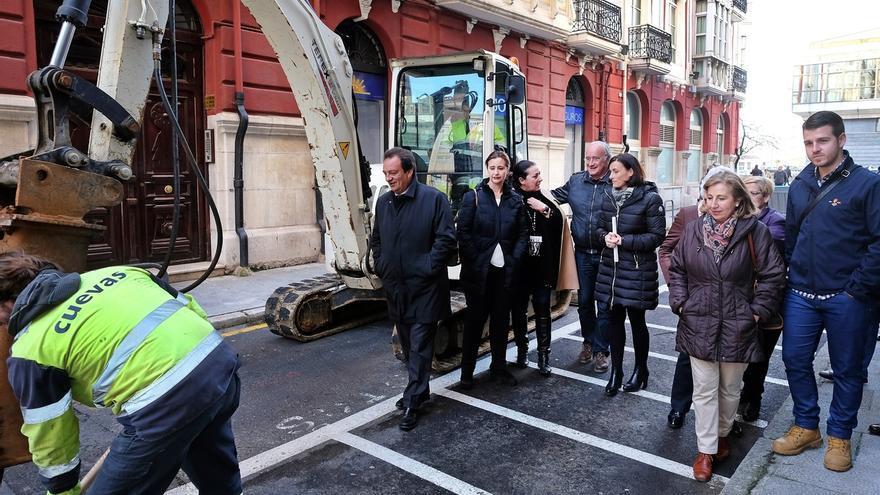 Los trabajos de asfaltado de las calles del entorno de la plaza de las Estaciones empiezan hoy