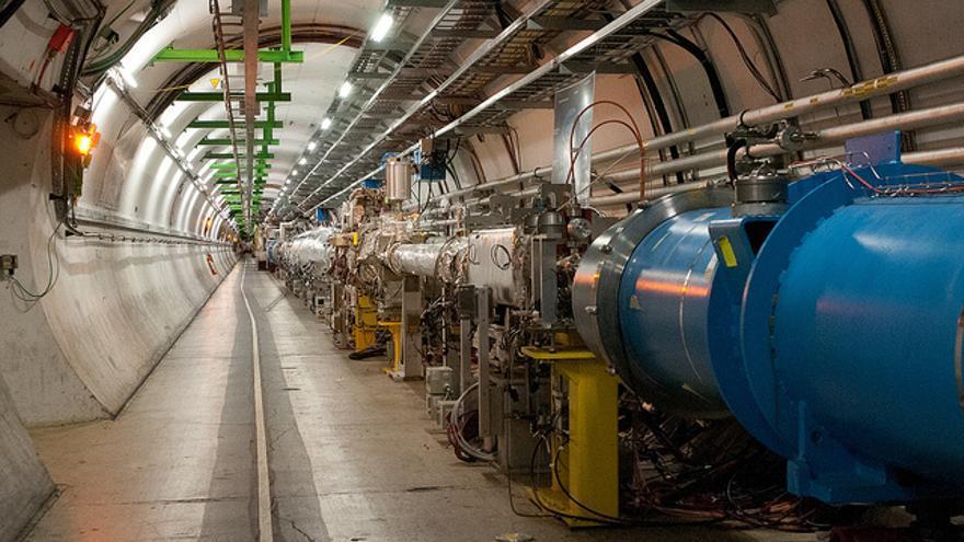 El LHC tiene cuatro detectores de partículas: ATLAS, ALICE, CMS y LHCb