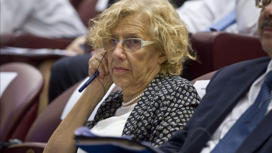 Carmena dice en el Vaticano que la lucha por los Derechos Humanos pasa por combatir la corrupción