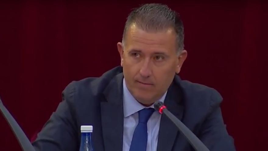 Vicente Sales, vicepresidente de la Diputación de Castellón.
