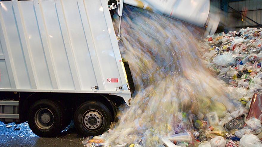 Camión de reciclaje. / Foto: Ecoembes